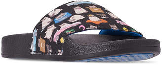 a04e5c6a2982 Skechers Women Bobs Pop Ups - Blah-Cation Bobs for Dogs and Cats Slide  Sandals