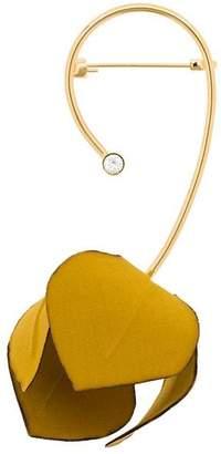 Marni floral embellished brooch