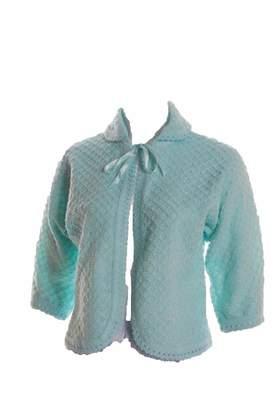 Olga lady Ladies Bed Jacket Nightwear Size 8 10 12 14 16 18 20 22 24 26 Knitted Housecoat