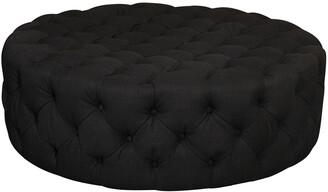 Pangea Jasper Round Ottoman