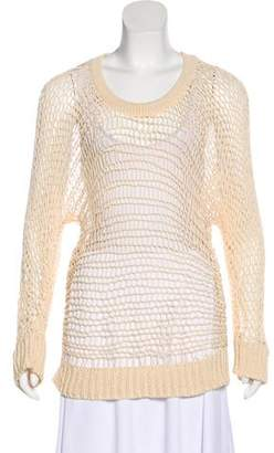 Opening Ceremony Knit Scoop Neck Sweater