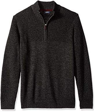Izod Men's Saltwater Solid 1/4 Zip Sweater