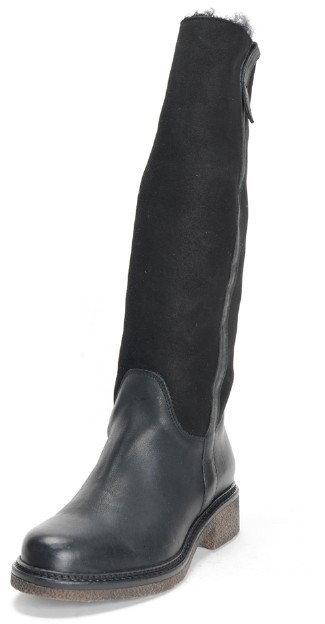 Boemos Suede and Leather Riding Boot