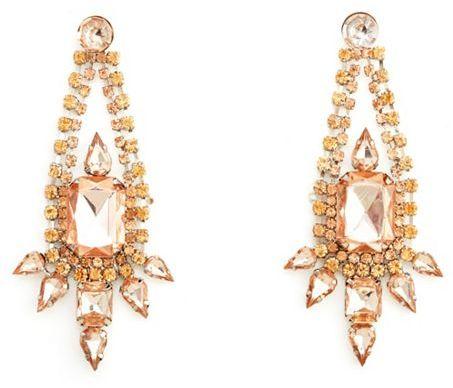 Charlotte Russe Chic Chandelier Statement Earrings