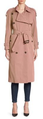 Burberry Haughton Trench Coat $2,595 thestylecure.com
