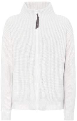 Brunello Cucinelli Wool cashmere and silk cardigan
