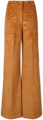 L'Autre Chose flared suit trousers