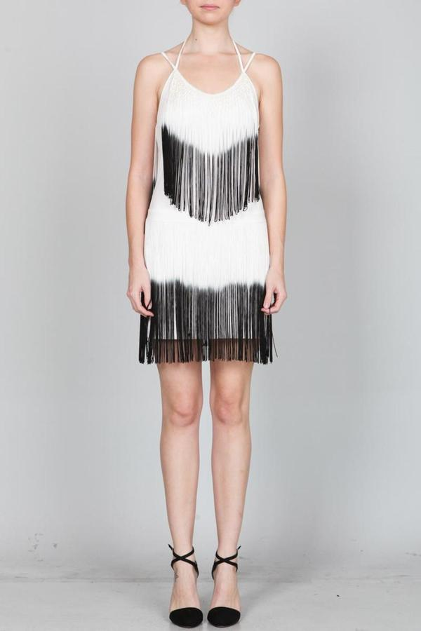 Ark & Co. Fringe Cocktail Dress