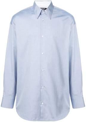 Calvin Klein long-sleeve fitted shirt