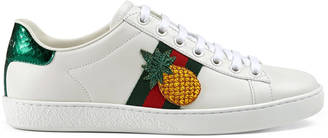 Ace embroidered low-top sneaker $620 thestylecure.com