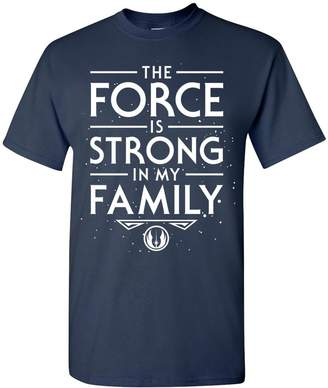 Star Wars Nurdtyme Inspired The Force Is Strong In My Family Unisex T-Shirt Tee Top