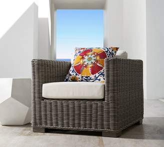 Pottery Barn Custom Roll-Arm Swivel Occasional Chair Furniture Cover