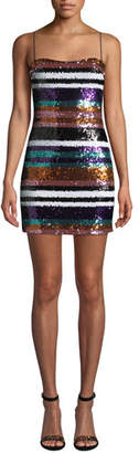 LIKELY Braelyn Sequined Short Cocktail Dress