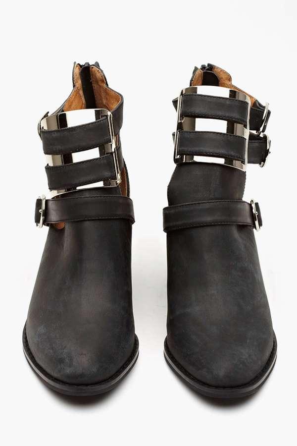 Nasty Gal Jeffrey Campbell Boyfriend Ankle Boot