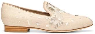 Donald J Pliner LYLE, Embellished Felt Loafer