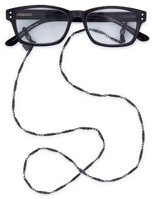 "Corinne McCormack Women's Gunmetal Link Glasses Chain, 29"""