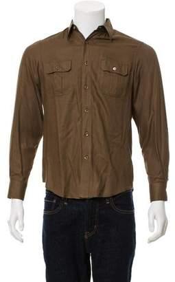 Saint Laurent Twill Casual Shirt