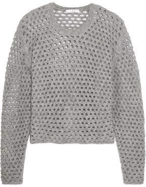 IRO Open-Knit Sweater