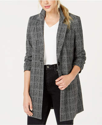 Bar III Plaid Topper Jacket, Created for Macy's