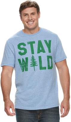 "Sonoma Goods For Life Big & Tall SONOMA Goods for Life ""Stay Wild"" Graphic Tee"