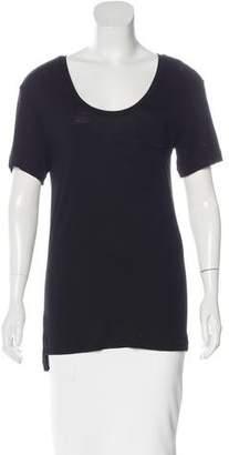 Rag & Bone Short Sleeve High-Low Top