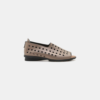Drick Perforated Flat $295 thestylecure.com