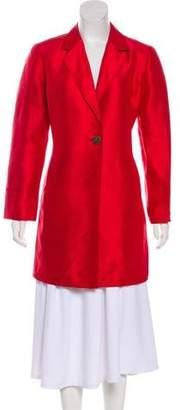 Ellen Tracy Linda Allard Silk Lightweight Coat