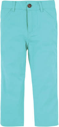 Andy & Evan Straight-Leg Twill Pants, Size 3-24 Months
