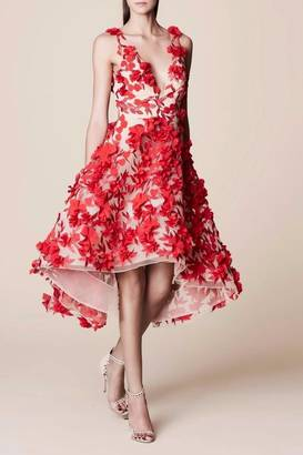 Notte by Marchesa Sleeveless Floral Dress $845 thestylecure.com