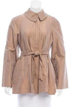 Brunello Cucinelli Belted Iridescent Jacket