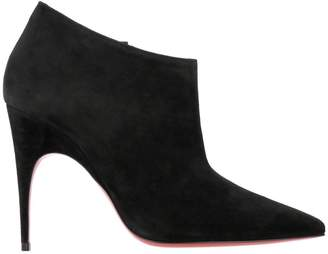 Christian Louboutin Heeled Booties Gorgona Ankle Boots In Suede