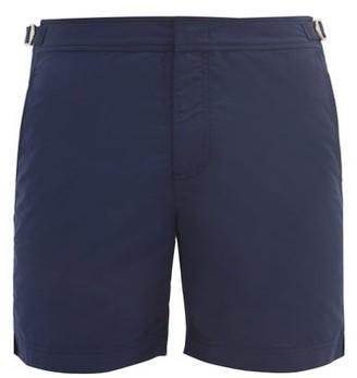 Orlebar Brown Bulldog Mid Length Swim Shorts - Mens - Navy