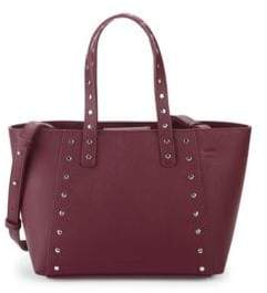 French Connection Small Ansley Studded Leather Tote