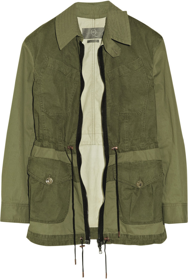 McQ Cotton-canvas cargo jacket
