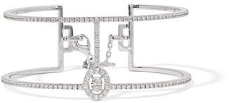 Messika Glam'azone 18-karat White Gold Diamond Bracelet - one size