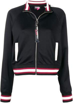 Karl Lagerfeld X Kaia Zip-Up Sweatshirt