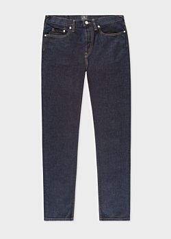 Paul Smith Men's Classic-Fit Indigo-Rinse 14oz 'Organic Pepper 'N' Salt' Jeans