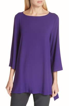 Eileen Fisher High/Low Jersey Tunic
