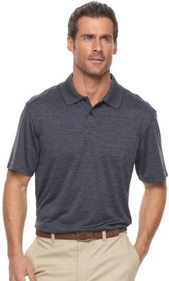 Haggar Men's Regular-Fit Solid Textured Performance Polo