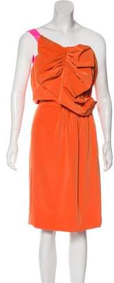 Miguelina One-Shoulder Casual Dress