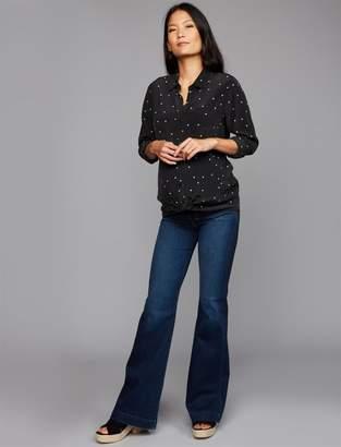 7 For All Mankind Dojo Flare Maternity Jeans