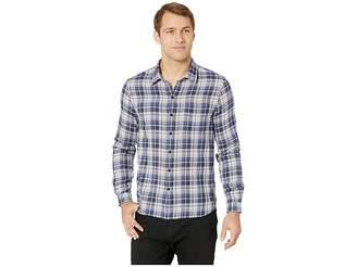 John Varvatos Double Weave Plaid/Small Check Slim Reversible Shirt