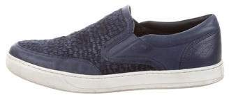 Vince Leather & Suede Quilted Sneakers