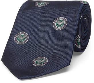 Ralph Lauren Wimbledon Silk Repp Tie