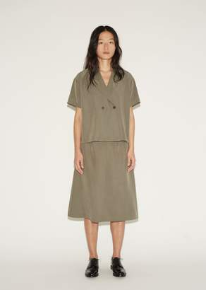 La Garçonne Moderne New Slip Skirt Khaki