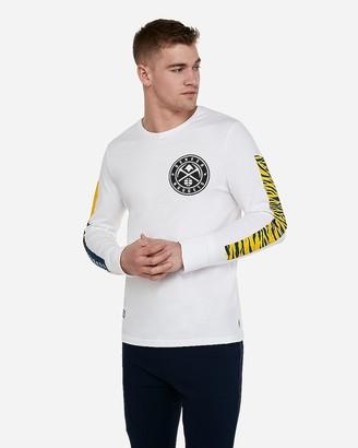 Express Denver Nuggets Nba Long Sleeve T-Shirt