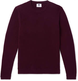 NN07 Phil Slim-Fit Ribbed Cotton Sweater