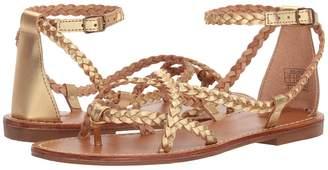 Soludos Amalfi Braided Metallic Sandal Women's Sandals