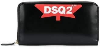 DSQUARED2 DSQ2 zipped wallet