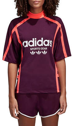 adidas Relaxed-Fit Logo Tee
